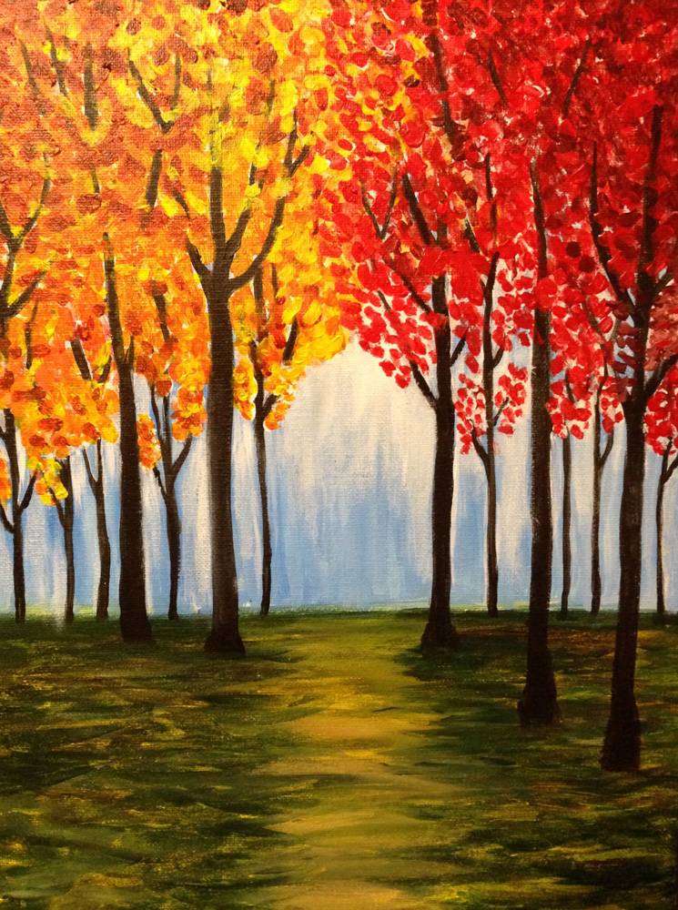 Fall Trees Drawing   www.pixshark.com - Images Galleries ...
