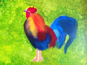 Rooster, easy version