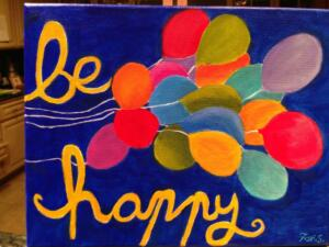 Be Happy Balloons