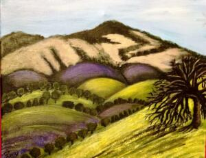 Mt. Diablo Painting 2