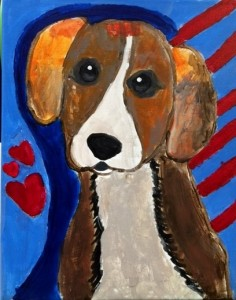 Picasso dog sample