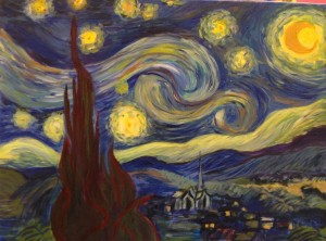 Starry-night Van Gough