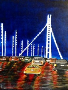 Cars on Bay Bridge