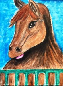 new-brown-horse-221x300