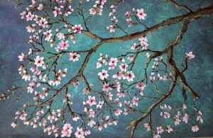 Blossom branches