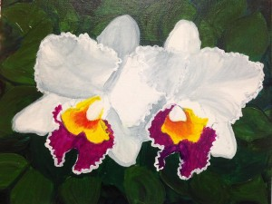 white-big-orchids-painting-300x225